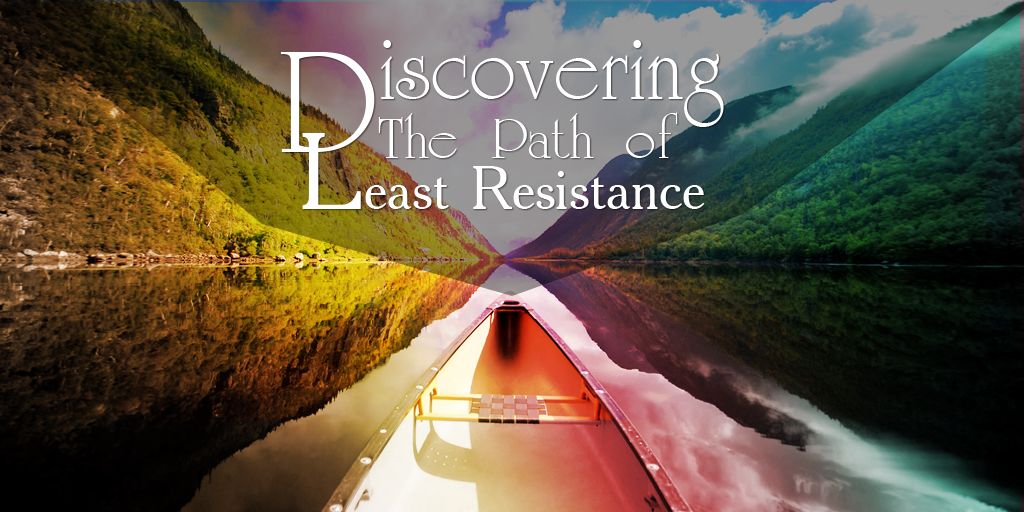 Taking The Principle Of Least Resistance